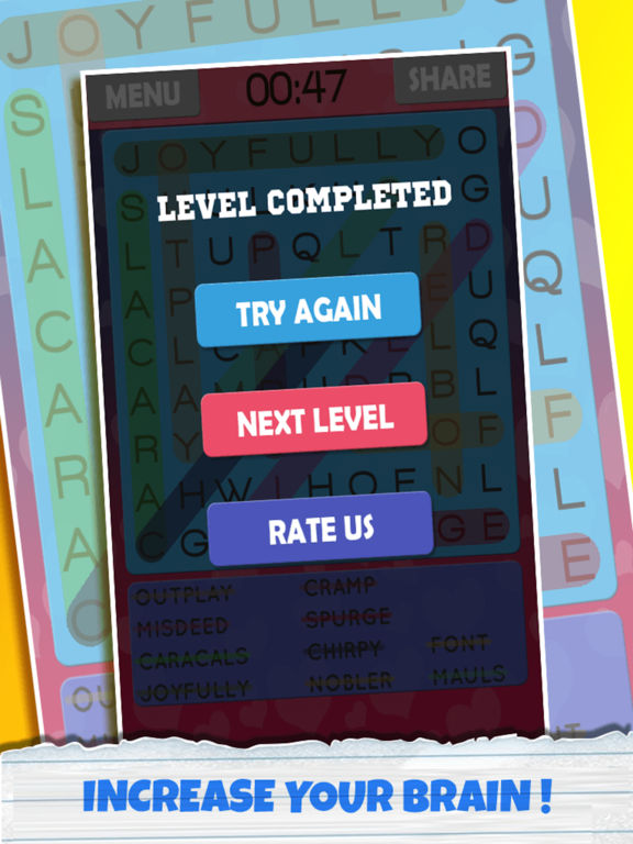 Twisty Word Search Puzzle Pro screenshot 10