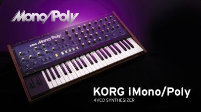 KORG iMono/Poly screenshot 1