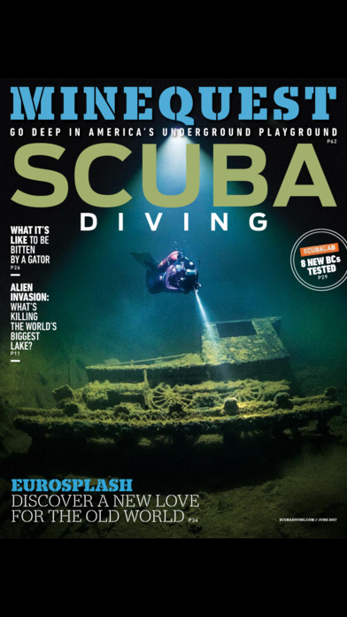 Scuba Diving Magazine screenshot 1