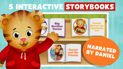 Daniel Tiger's Storybooks screenshot 1