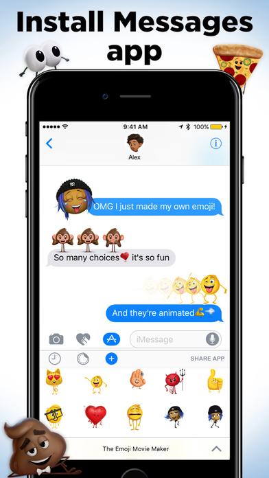 The Emoji Movie Maker screenshot 4