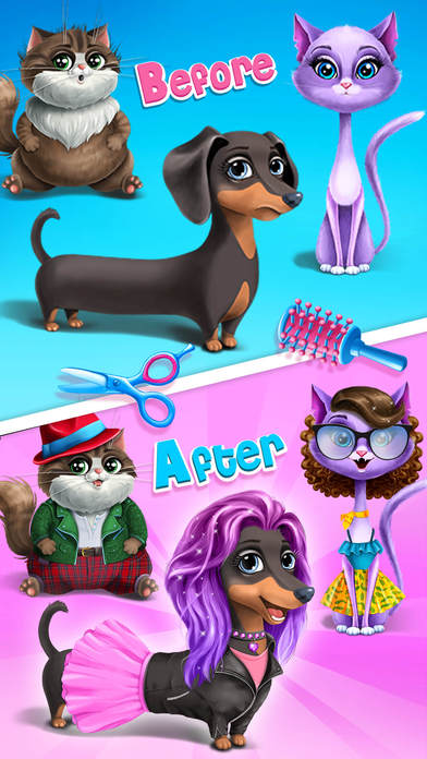 Farm Animals Makeover - Cute Virtual Pet Salon screenshot 2