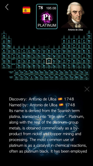 The Periodic Table - Chemistry screenshot 5