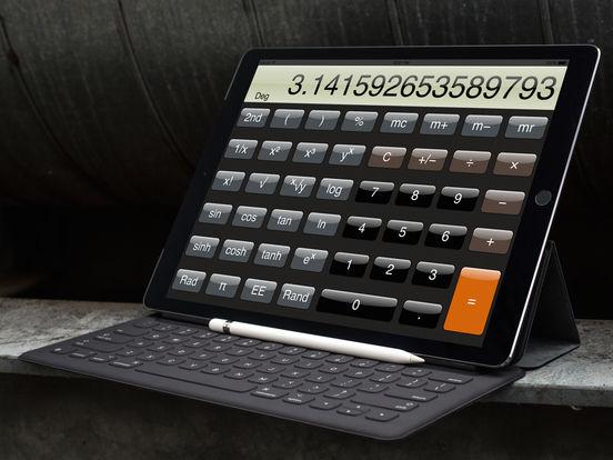 Calculator ® for iPad screenshot 1