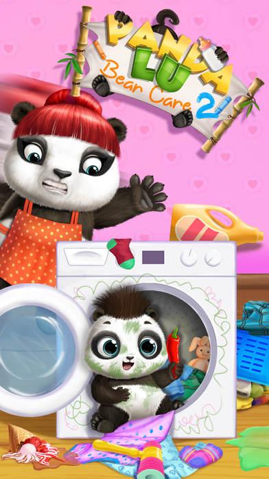 Panda Lu Baby Bear Care 2 - No Ads screenshot 2
