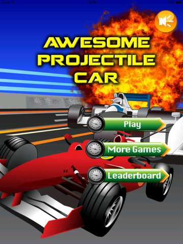 Awesome Projectile Car Pro - Real Speed Xtreme Race screenshot 6