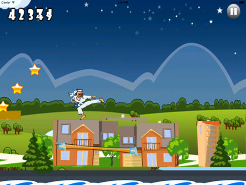 Teenage Karateka Run - Fun Jump Mobile screenshot 9