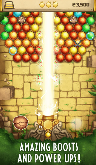 Bubble Shooter Lost Temple screenshot 4