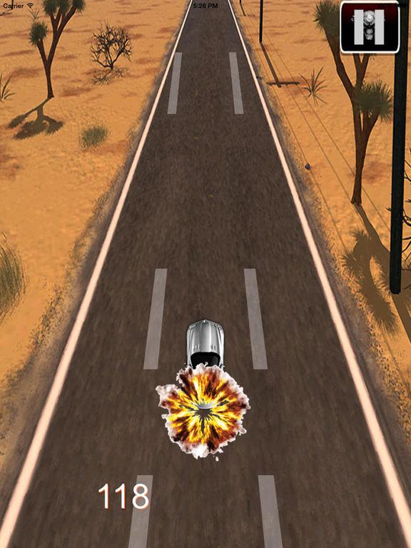 Electric Car Of Police - Fantastic Road screenshot 7