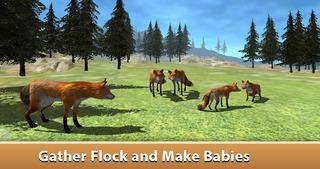 Wild Fox Survival Simulator 3D Full screenshot 2