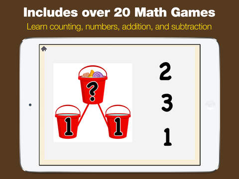 Kindergarten Math - Games for Kids in Pr-K and Preschool Learning First Numbers, Addition, and Subtraction screenshot 9
