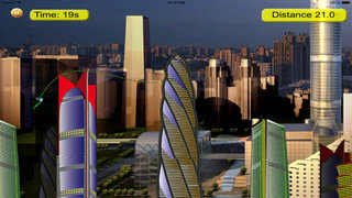 Robot Rope Escape - Amazing Fly And Escape From City screenshot 2