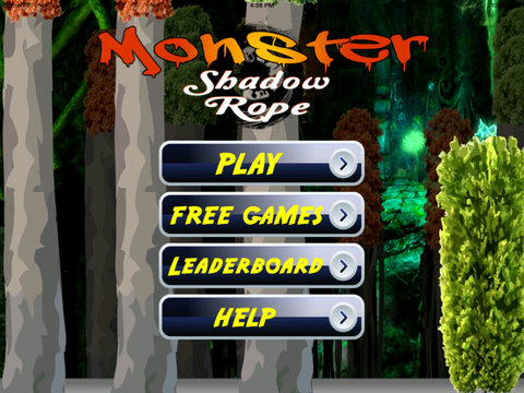 A Monster Shadow Rope Pro - Ninja Castle Escape Jump screenshot 6