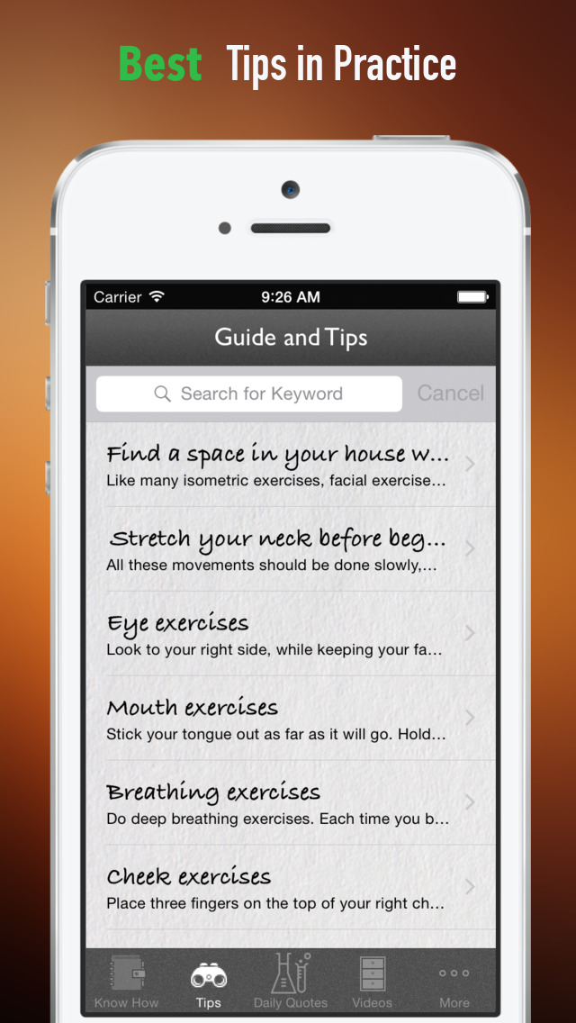 How to Exercise Facial Muscles:Tips and Tutorial screenshot 4