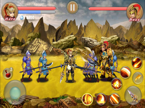Spear Of Kingdoms - Action RPG screenshot 8