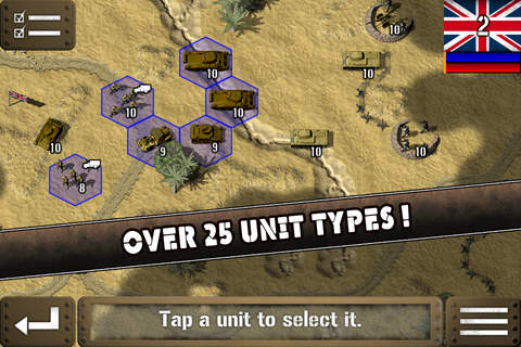 Tank Battle: North Africa Lite - náhled