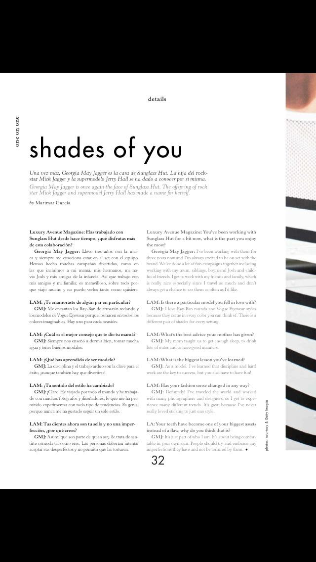 Luxury Avenue(Magazine) screenshot 5