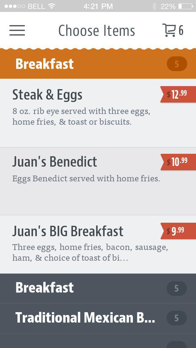 Juan's Mexican Cafe & Cantina screenshot 3