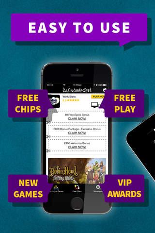 Vegas Slot Games - Exclusive Bonuses - náhled