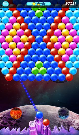 Lunar Bubble Shooter screenshot 4