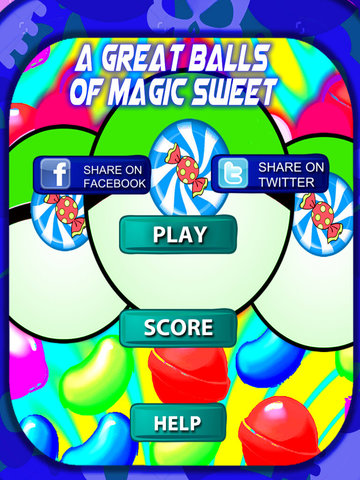A Great Balls Of Magic Sweet - Favorite Game Fusion Sweets screenshot 6
