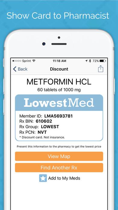 RxSaver Prescription Discounts screenshot 3