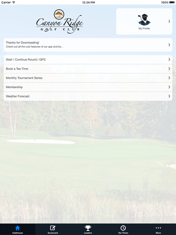 Canyon Ridge Golf Club screenshot 7