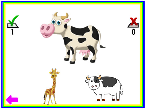 Animals Learn, Identify & Puzzle game for Toddler & Preschool kids screenshot 10