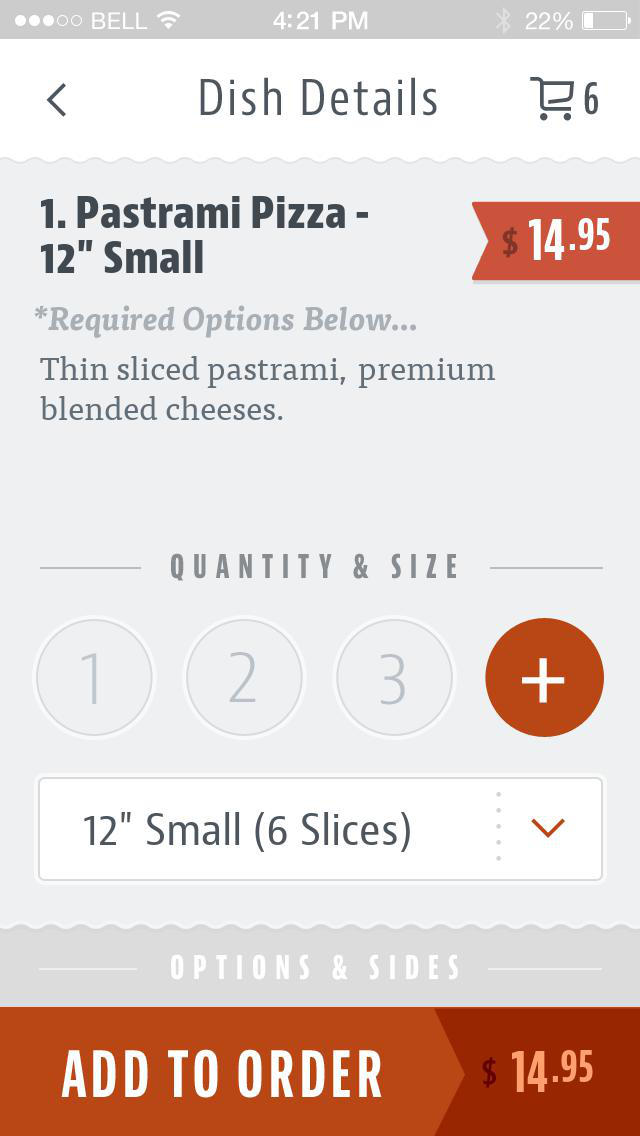 Doughlicious Pizza screenshot 4