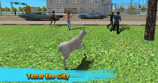 City Goat: Animal Survival Simulator 3D screenshot 2