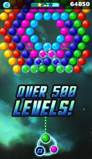 Supernova Bubble Puzzle screenshot 1