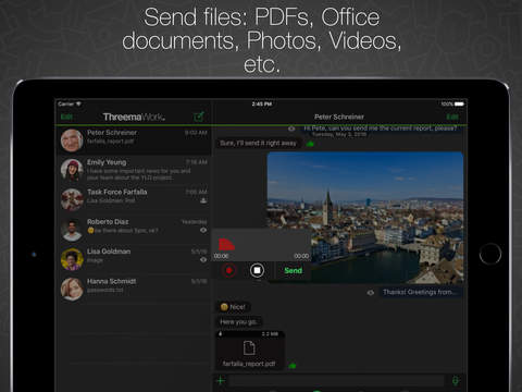 Threema Work screenshot 8