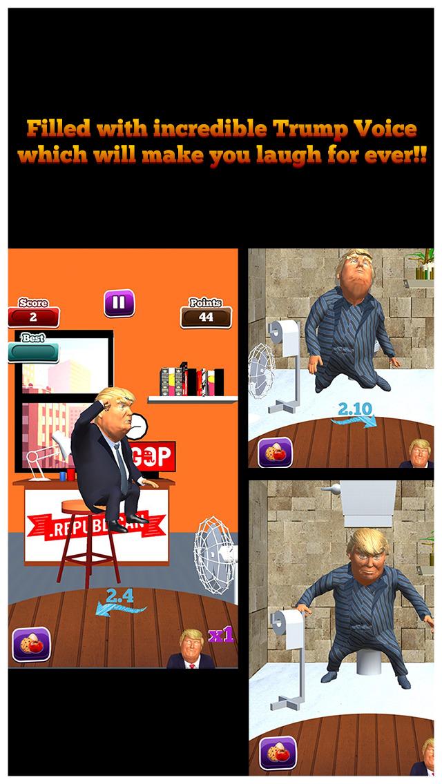 Trump Toss - Can You Beat The Donald? screenshot 4