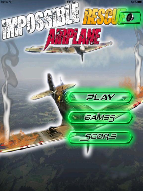 A Impossible Rescue Airplane PRO -Flight Simulator screenshot 6