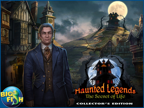 Haunted Legends: The Secret of Life - A Mystery Hidden Object Game (Full) screenshot 10