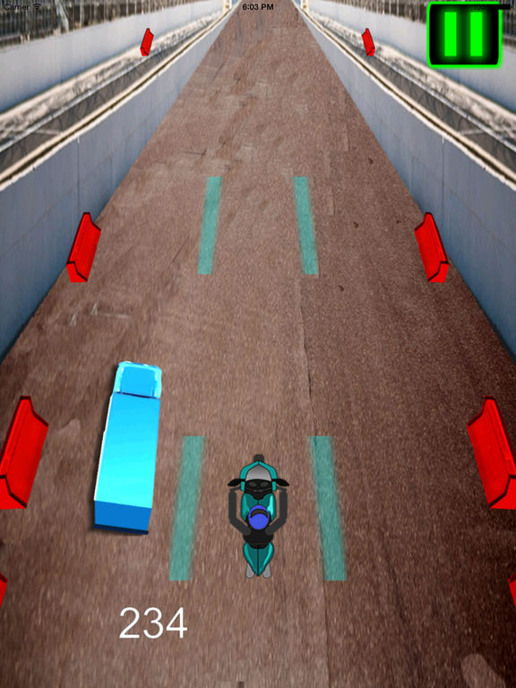 A Fast Motorcycle Racing Fury - A Lighted Track screenshot 10