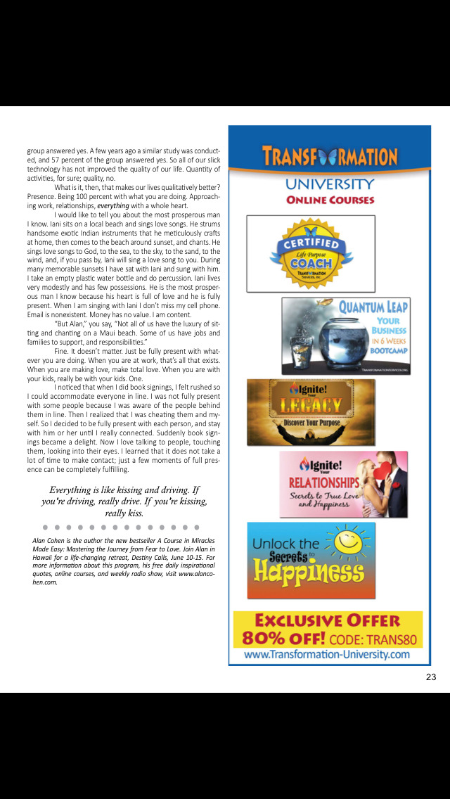 Transformation (Magazine) screenshot 5