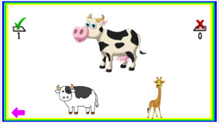Animals Learn, Identify & Puzzle game for Toddler & Preschool kids screenshot 3