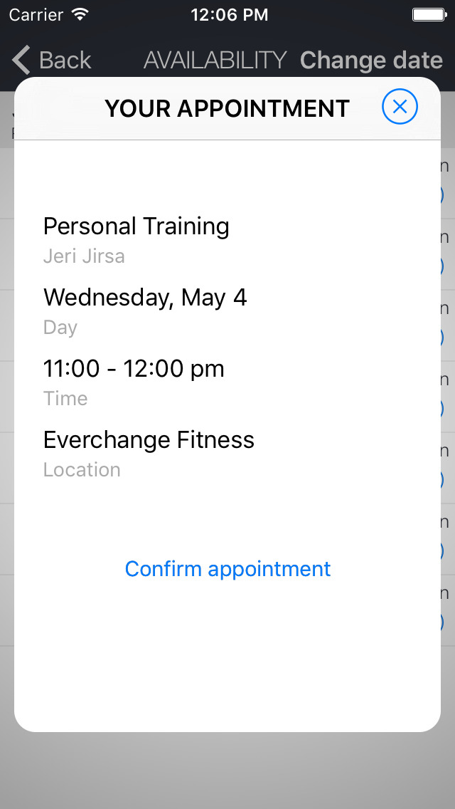 Everchange Fitness screenshot 2