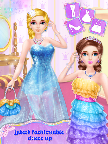 Princess Fashion Salon Stage screenshot 10