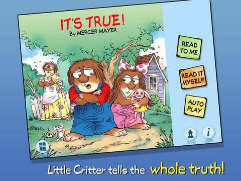 It's True - Little Critter screenshot 5