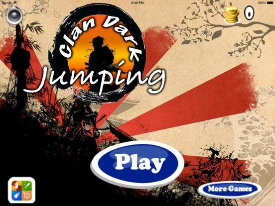Clan Dark Jumping Pro - Samurai Adventure Game screenshot 6