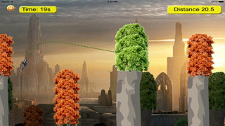 Amazing Warriors Jumps - Awesome Fly And Run Style Games screenshot 4