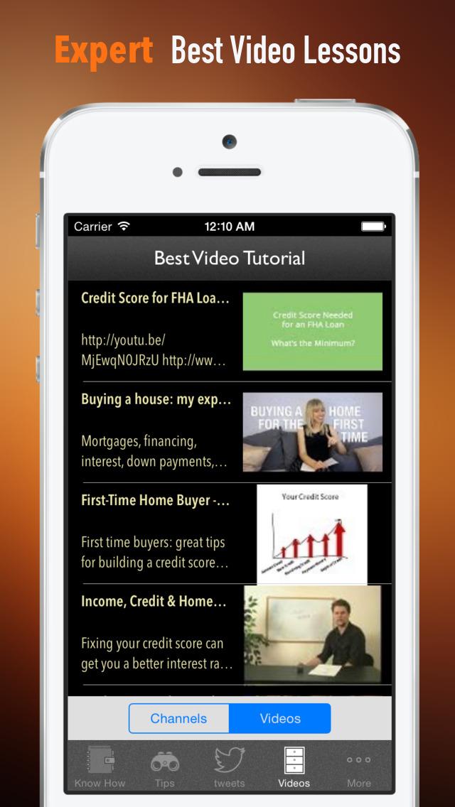 Credit Score to Buy a House:Realtors,Bank loan and Winner Tips screenshot 3