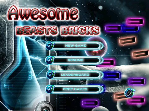 Awesome Beasts Bricks Pro - Ball Blast Action Break Out Game screenshot 6