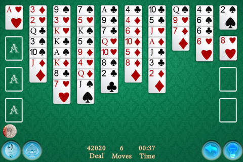 Solitaire FreeCell King - náhled