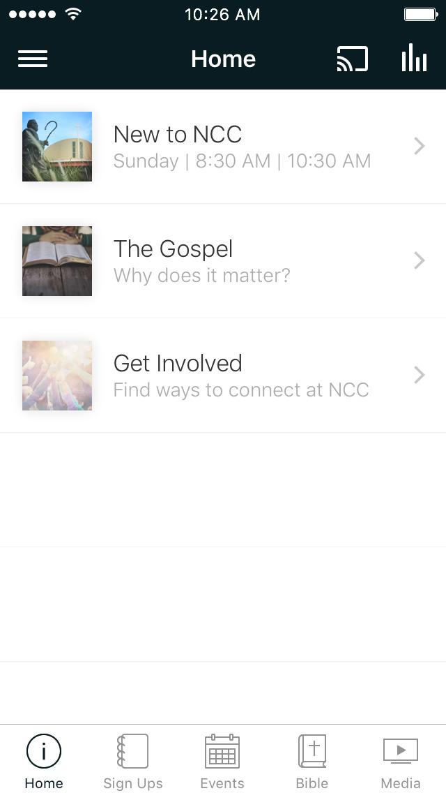 Northwest Community Church screenshot 1