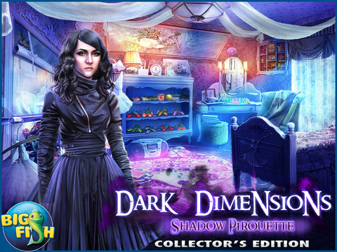 Dark Dimensions: Shadow Pirouette HD - A Scary Hidden Object Game (Full) screenshot 5