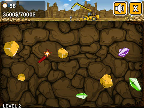 The Gold Miner ® screenshot 8
