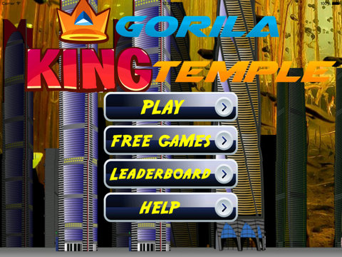 A Gorilla King PRO - Run, Jump and Fly Adventure screenshot 6